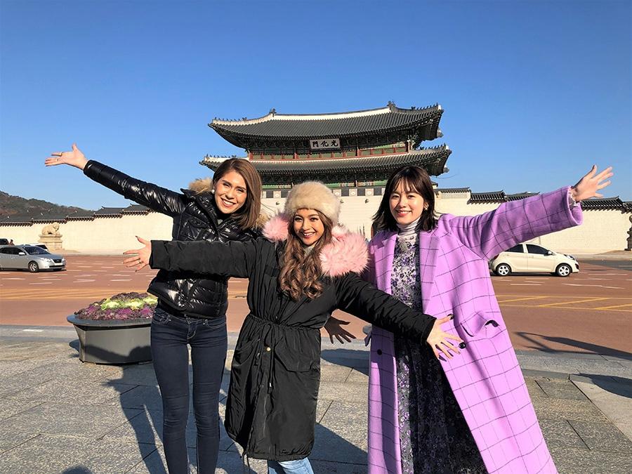 左から、セレン、ゆきぽよ、筧美和子