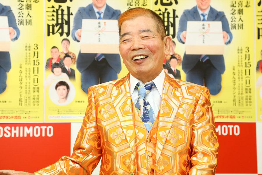 「吉本新喜劇でどうするつもりなんやろうなと、当時は疑問に思っていました」と池乃めだか(12月25日・大阪市内)