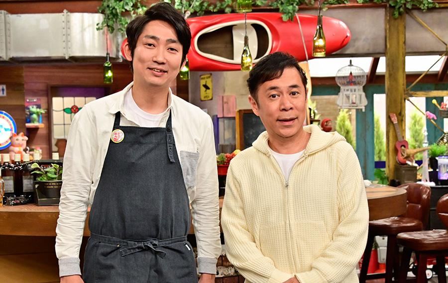 2代目店長の石田明と岡村隆史