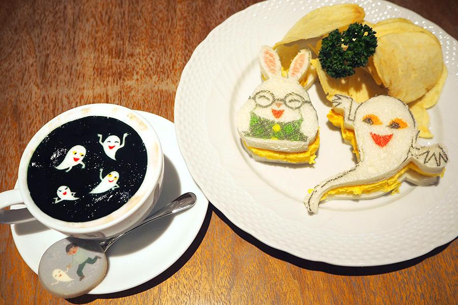 世界観を再現したメニューが味わえる「カフェ ル パン」でのコラボカフェ