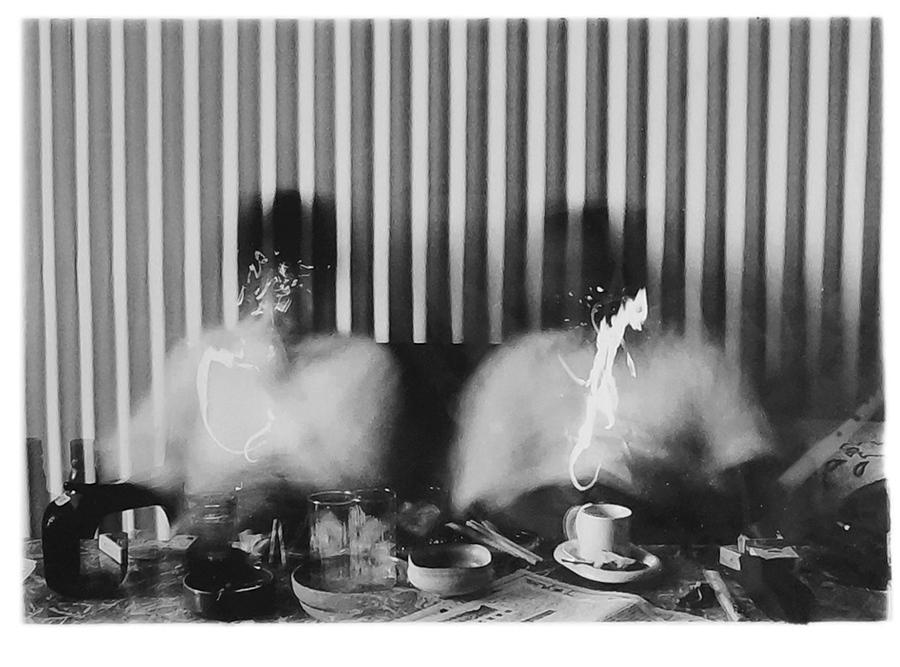 今井祝雄《F氏との1時間》1979年 ゼラチンシルバープリント ©Norio Imai, Courtesy of Yumiko Chiba Associates