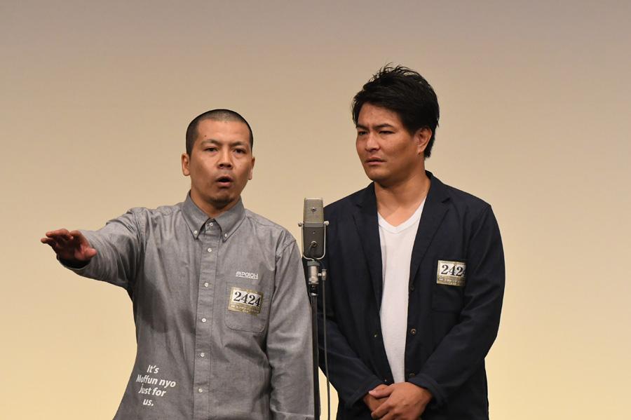 天竺鼠(4日・準決勝の様子)(C)M-1グランプリ事務局