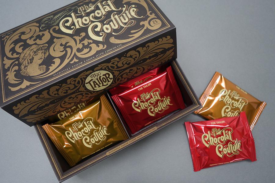 「ザ・ショコラクチュール」の6個入り。2種のクリームが楽しめる