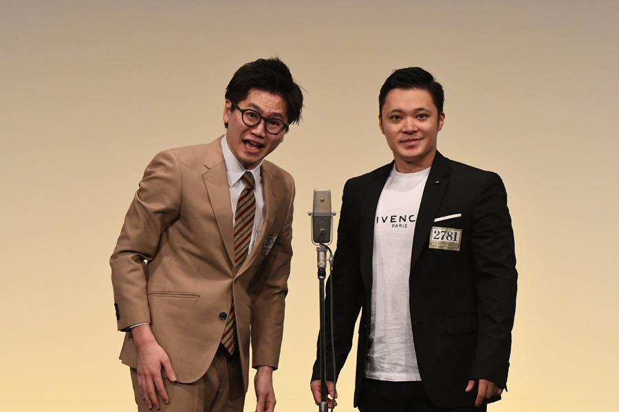 東京ホテイソン(4日・準決勝の様子)(C)M-1グランプリ事務局
