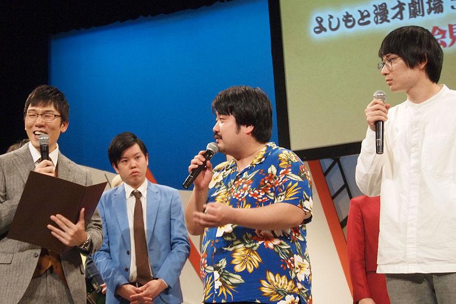 現在の借金が「700万円を超えている」と明かした空気階段の鈴木もぐら(12月2日・大阪市)