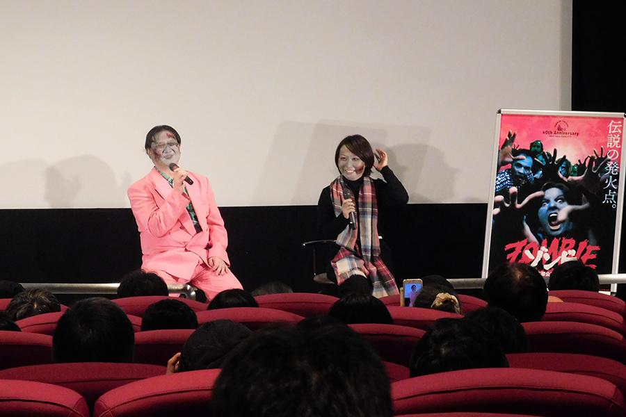 左からミルクマン斉藤さん、福田安佐子先生