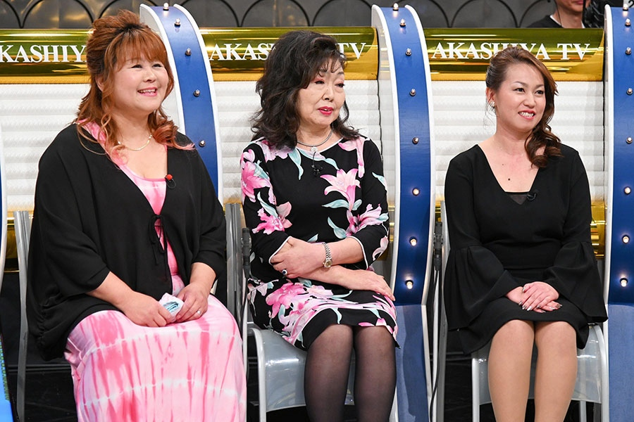 (左から)清美ママ、優子ママ、愛ママ(写真提供:MBS)