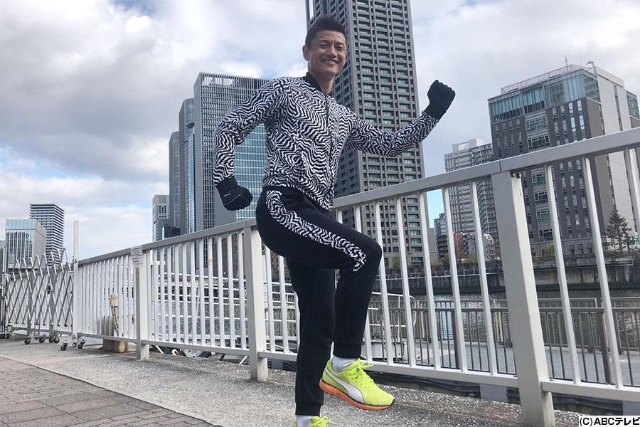 『第40回丹波篠山ABCマラソン』に挑戦するサッカー元日本代表・播戸竜二氏