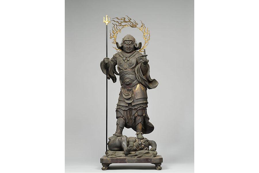 毘沙門天立像 木造 彩色・漆造 像高78.2cm 鎌倉時代(13世紀) 奈良国立博物館