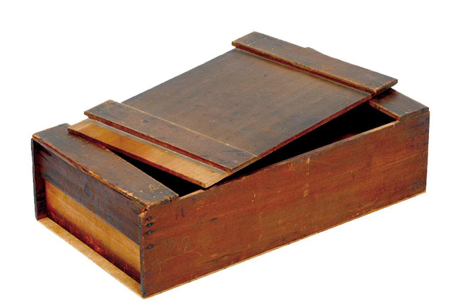 さまざまな道具を持ち運ぶための道具箱