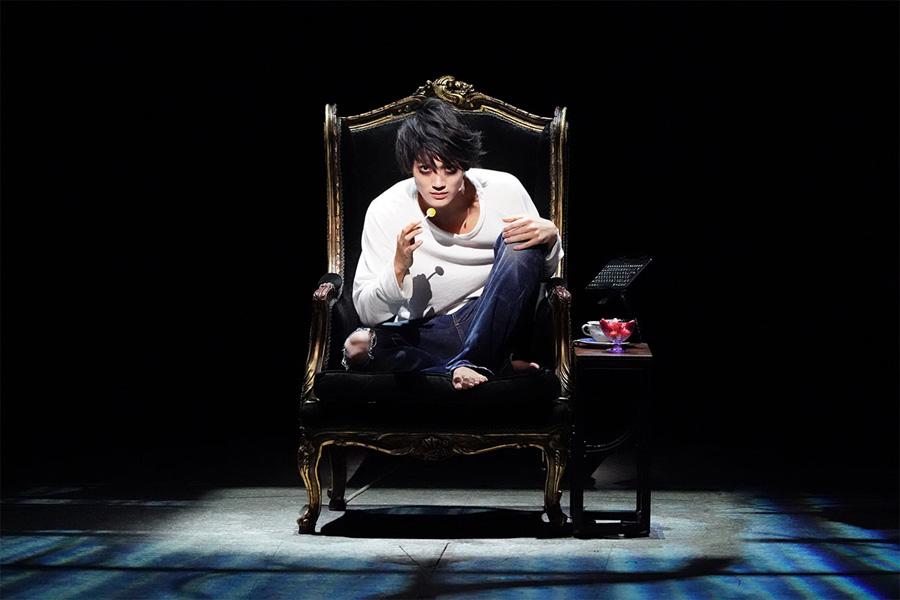 東京公演より、エル役の髙橋颯 写真/田中亜紀 提供:ホリプロ