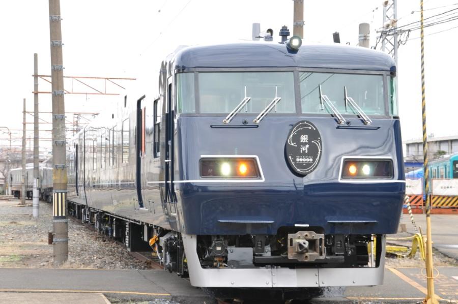 5月8日から運行を始める長距離列車「銀河」(1月25日・吹田市)