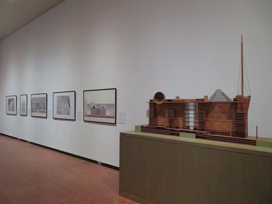 磯崎新「東京都新都庁舎計画」1986年