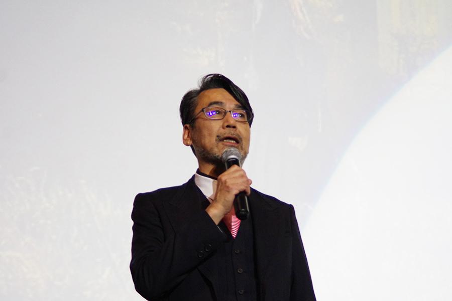 西田敏行とのシーンについて「打ち合わせから始まったけれど、西田さんの芝居が始まった。じゃあ、回しましょうって。見ていただいたのはワンシーンなんですけれども、どこも面白かった」と諏訪監督