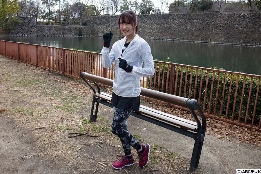 『第40回丹波篠山ABCマラソン』に挑戦するNMB48・小嶋花梨