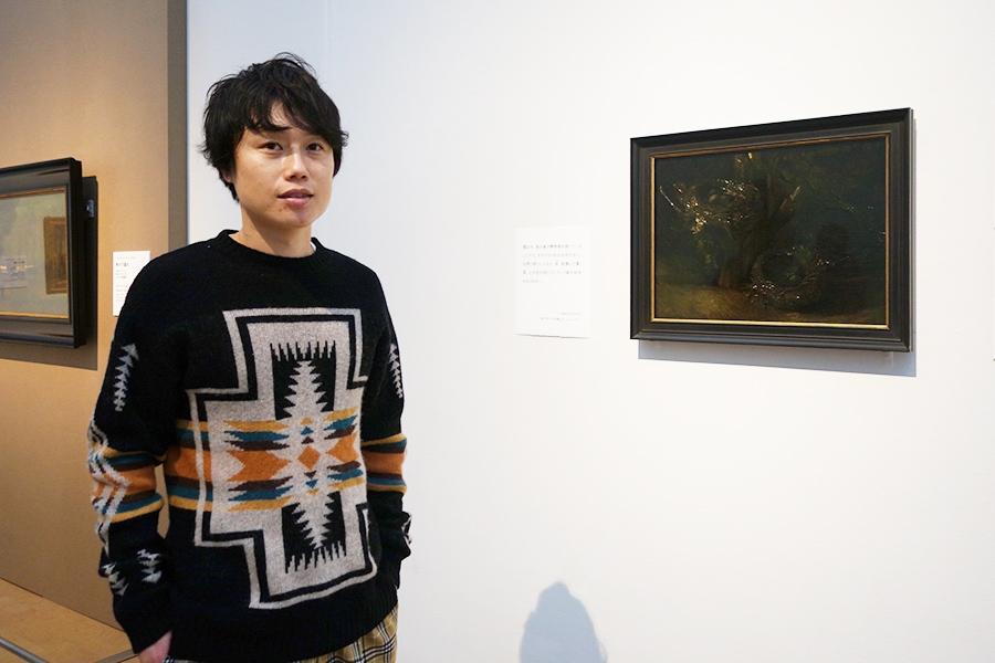 オランダ時代に描いた作品。本当に暗いですね。撮るとき編集に「暗すぎて何描いているのか分かりません」と言われました。フィンセント・ファン・ゴッホ《鳥の巣のある静物》1885年10月、ニューネン 油彩、カンヴァス ハーグ美術館
