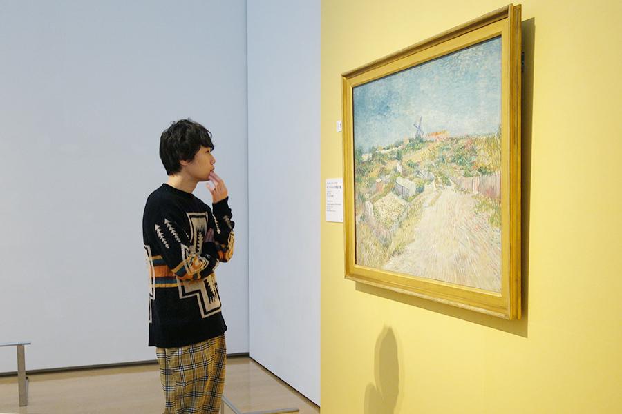印象派から影響を受けたことを感じ取れますよね。フィンセント・ファン・ゴッホ《モンマルトルの家庭菜園》 1887年6-7月 油彩・カンヴァス 97.5×129.5㎝ アムステルダム市立美術館 © Stedelijk Museum, Amsterdam