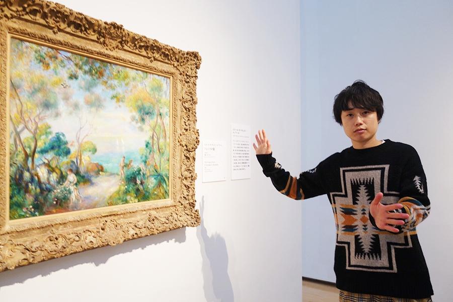 見よ、この華やかさ! ピエール=オーギュスト・ルノワール《ソレントの庭》1881年 油彩、カンヴァス グレート・アート・ファンドLP © Great Art Fund LP