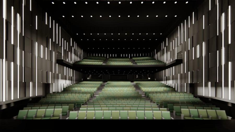 新劇場の客席イメージ図