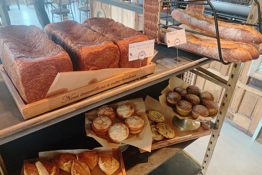 デニッシュ食パンがおすすめだという「MONDIAL KAFFEE328」(大阪市大正区)