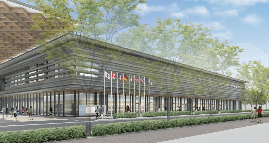 2020年4月1日開業が決まった「奈良コンベンションセンター」のイメージビジュアル