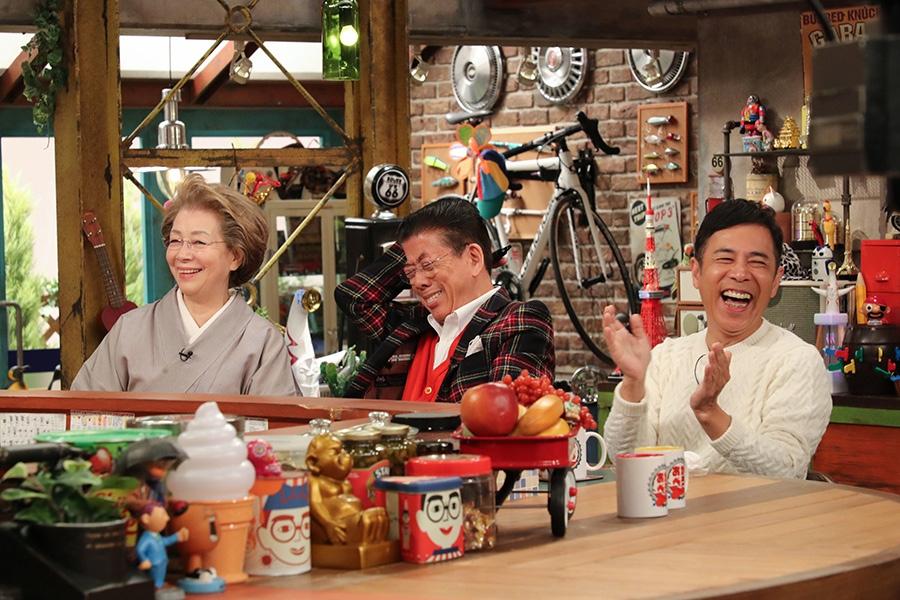 左から、西川ヘレン、きよし、ナイナイ岡村隆史