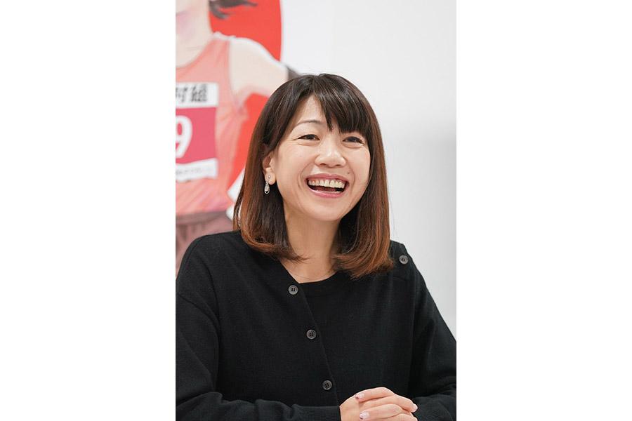 『第39回大阪国際女子マラソン』で解説を務める高橋尚子