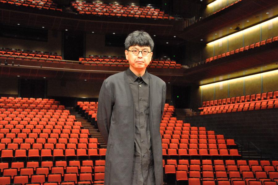 「ロームシアター京都」の新しい館長に就任予定の演出家・三浦基(1月16日・ロームシアター京都)