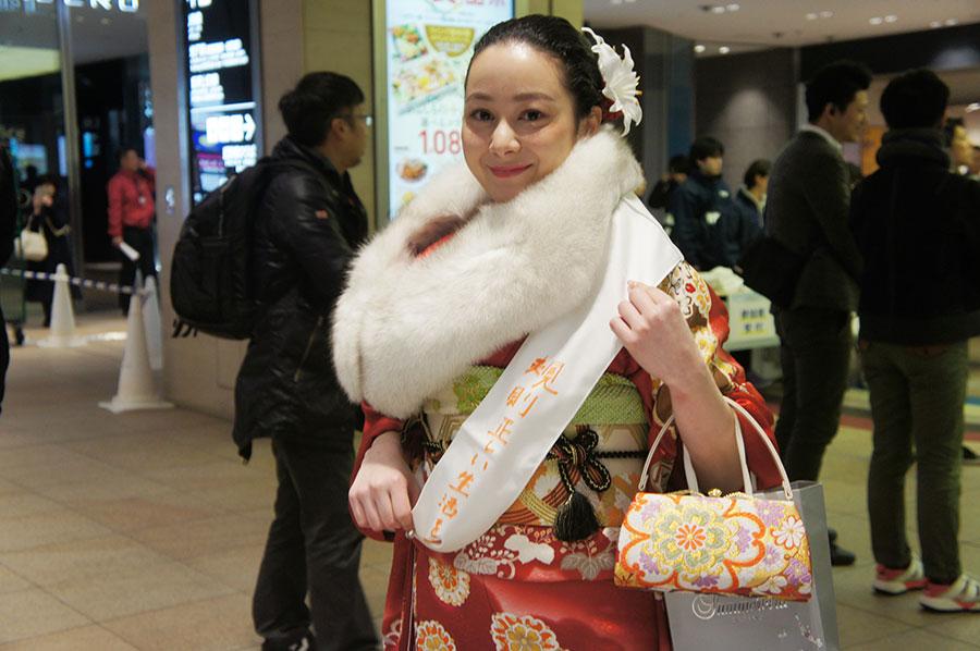 大阪市出身、デンマーク在住の細見ひなさん。デンマーク留学中の彼女は、このイベントのために一時帰国中なのだとか(13日・大阪市内)