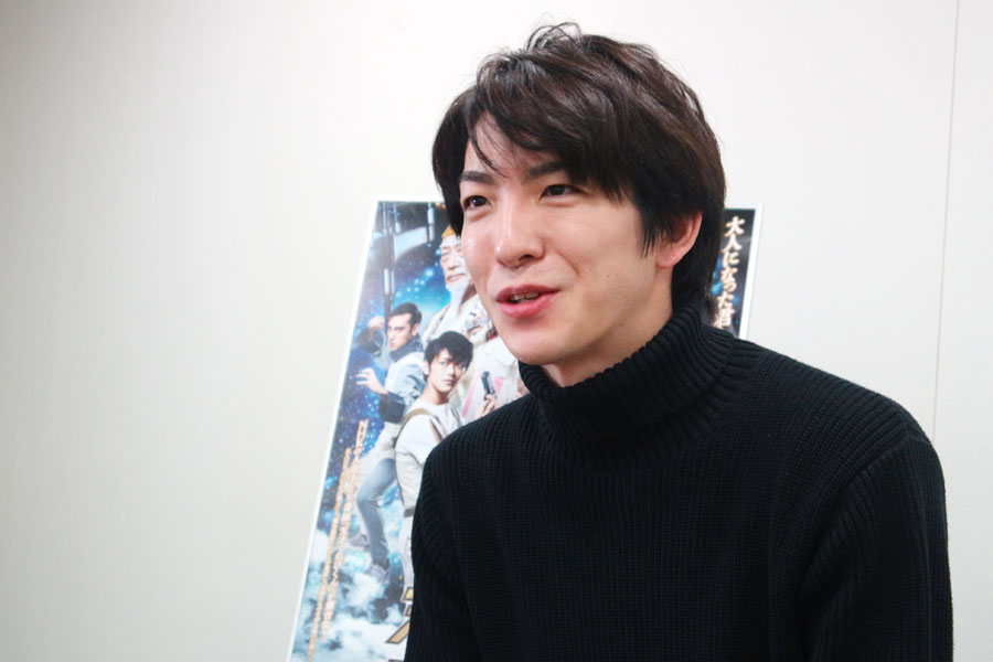 『天才てれびくんMAX』で2003年から3年間、てれび戦士として出演していた前田公輝(1月8日・大阪市内)