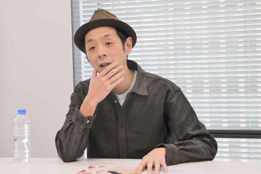 「数人だけで、どれぐらいドラマを動かせるかという、大河ドラマとは対極にある世界」と宮藤(1月31日・大阪市内)
