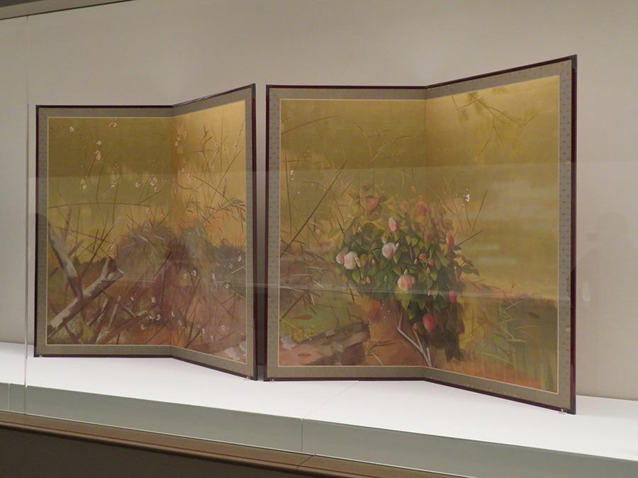山下摩起《春花図》1930年代