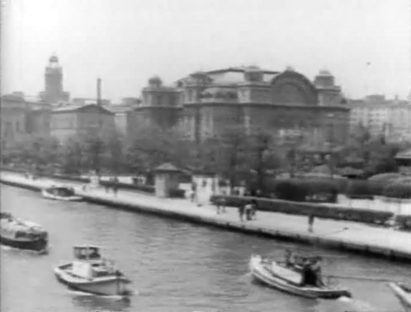 「大大阪観光」(1937年、大阪市高速電気軌道株式会社所蔵)スチル