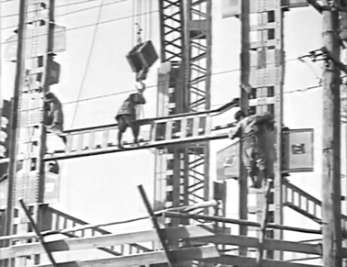 「大阪瓦斯ビルディング 建設の記録」(1933年、株式会社大林組所蔵)スチル