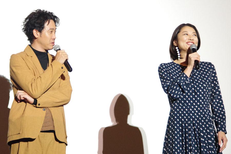 「何でも受け止めてくださるので、全然おこらないですから、大泉さん」と小池(1月29日・大阪市内)