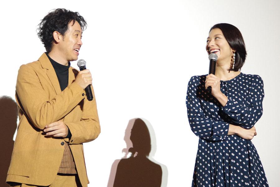 「せっかく大阪にいるんで一度は、NGK(なんばグランド花月)の舞台に立ちたい」と話した大泉と小池(1月29日・大阪市内)