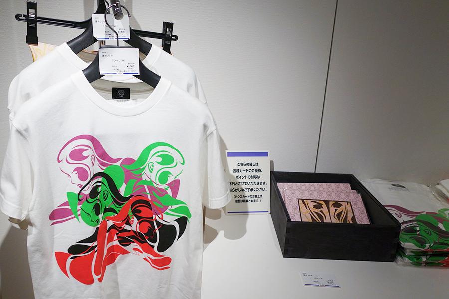 会場のグッズ売場で販売されているTシャツ3500円