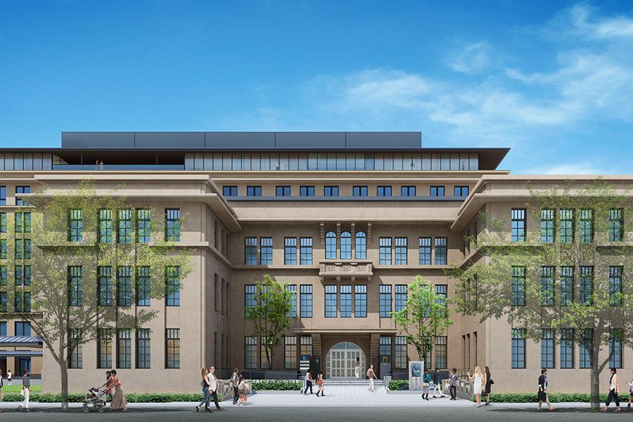 立誠小学校の近代建築を活かしてリノベーション