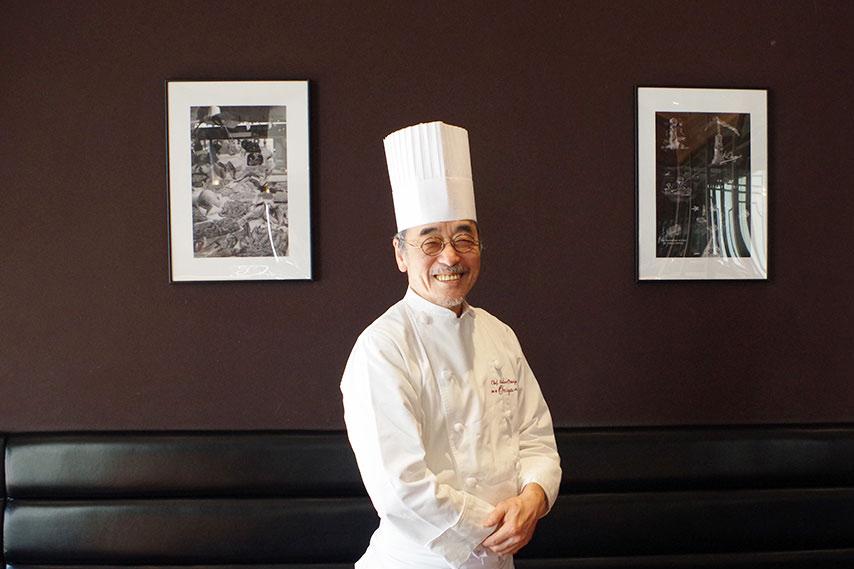 東京・浅草「レストラン大宮」などを手掛ける、大宮勝雄シェフ