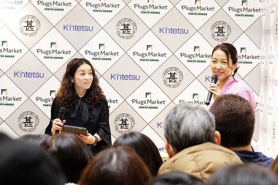 1865年から代々伝わる羽田家の屋号である「羽田甚商店」。もともとは宮大工としてはじまったが、羽田美智子(写真右)がその名を受け継いだ