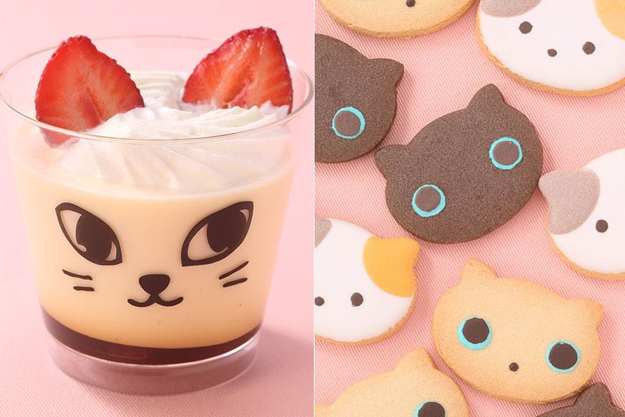 左から「ケーキハウス ショウタニ」のプリン(360円)、「OSAKA愛シング」のクッキー3枚セット(864円)