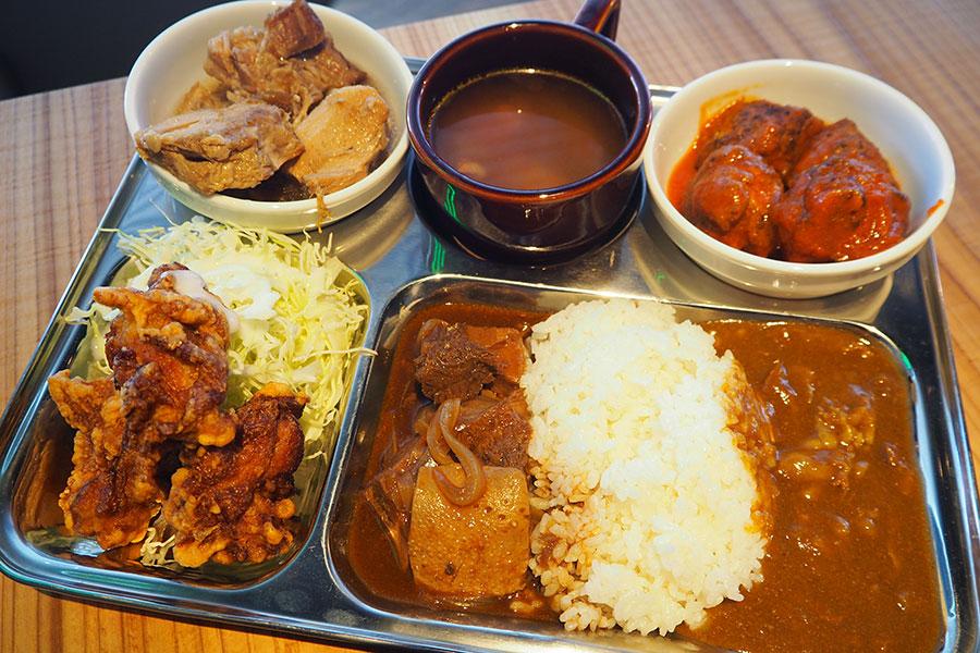 唐揚げにビーフカレー…肉屋による肉しかないブッフェ
