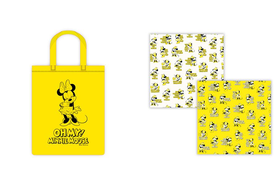 左から「クリアバッグ」(2000円・税別)、「バンダナ」(2種/各1000円・税別)