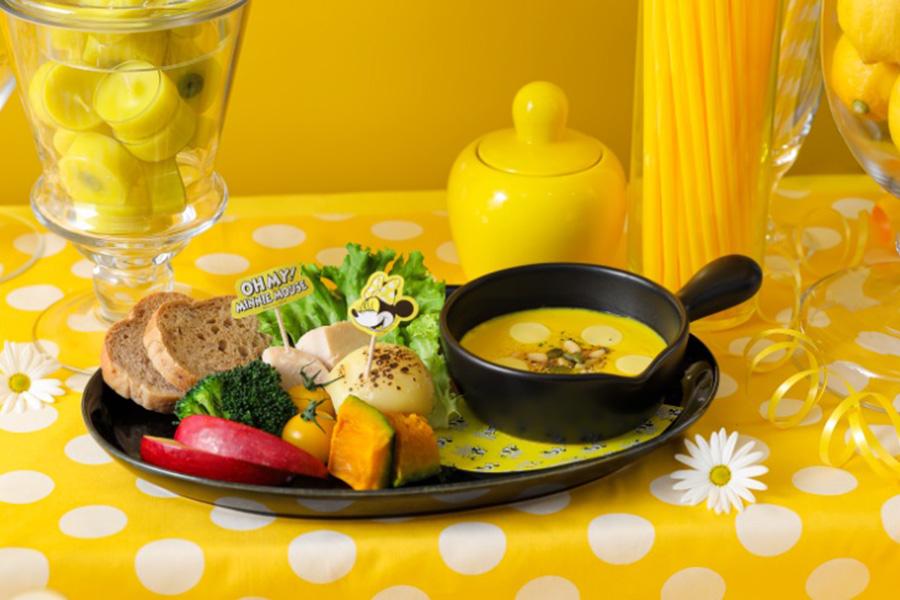 「お野菜ゴロゴロ♪カボチャフォンデュ」(1590円・税別)