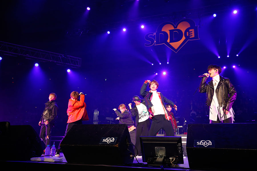 FANTASTICS from EXILE TRIBE(15日・大阪城ホール)写真:LIVE SDD 2020 official photo