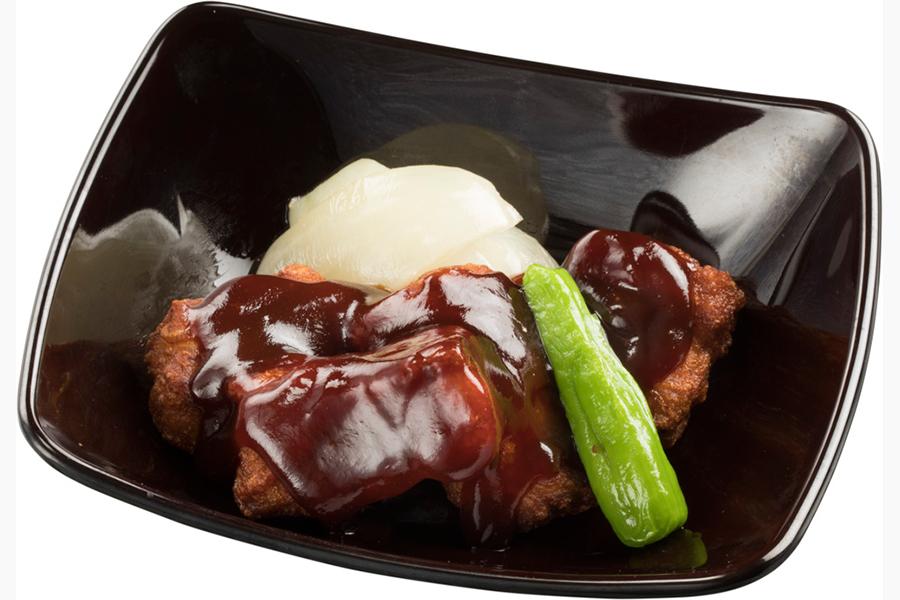 「匠の黒酢酢豚」(380円・税別)