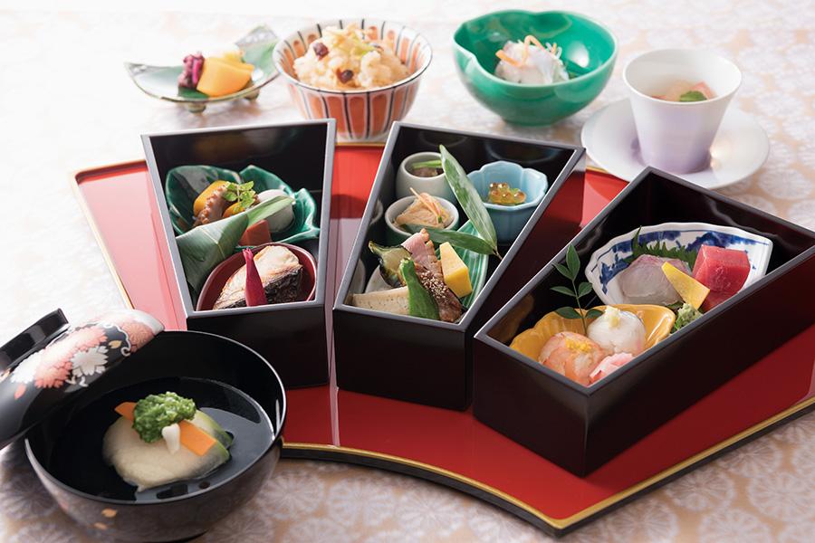 日本料理の彩羽で料理(イメージ)