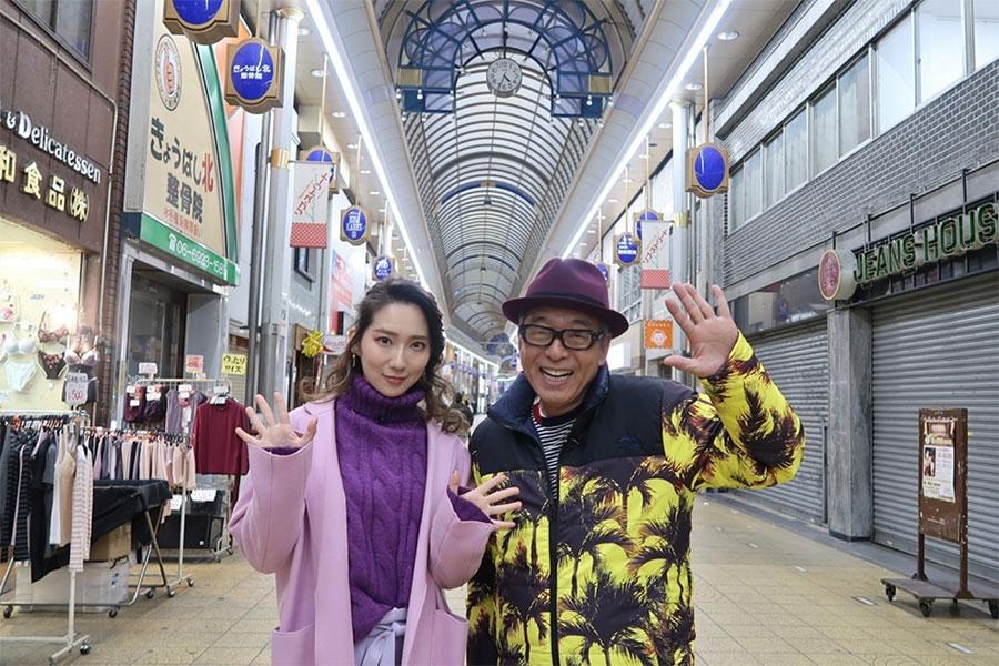 円広志が京橋出身のファーストサマーウイカと街ブラロケをおこなった(11日放送)