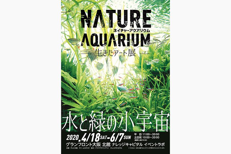 創始者・天野尚の活動紹介および若手水景クリエイターによるネイチャーアクアリウムが多数展示 ©︎アクアデザインアマノ