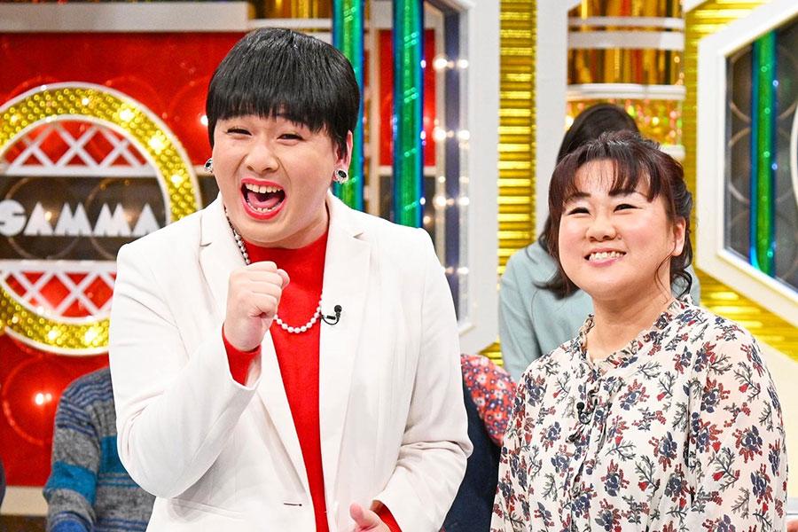 左からMr.シャチホコ・みはる夫婦(写真提供:MBS)